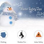 Image for the Tweet beginning: Winter Safety Tips: Keep the