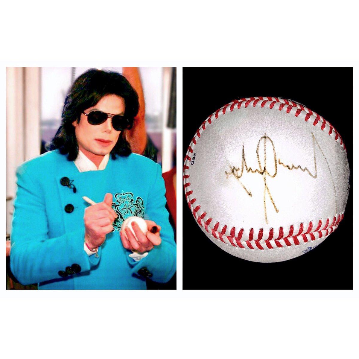 Graham Elliot On Twitter Michael Jackson Signed Baseball