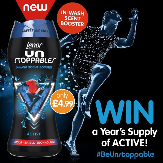 #COMPETITION TIME - ENDS FRIDAY   This is your FINAL chance to #WIN a YEAR&#39;S supply of Lenor Unstoppables - providing high endurance freshness on sportswear!  For a chance to #WIN simply FLW, RT &amp; COMMENT &quot;WHO&quot; has the MOST washing in your home!  Competition ends 9am 18/01/19 <br>http://pic.twitter.com/MSuJy1fM3z