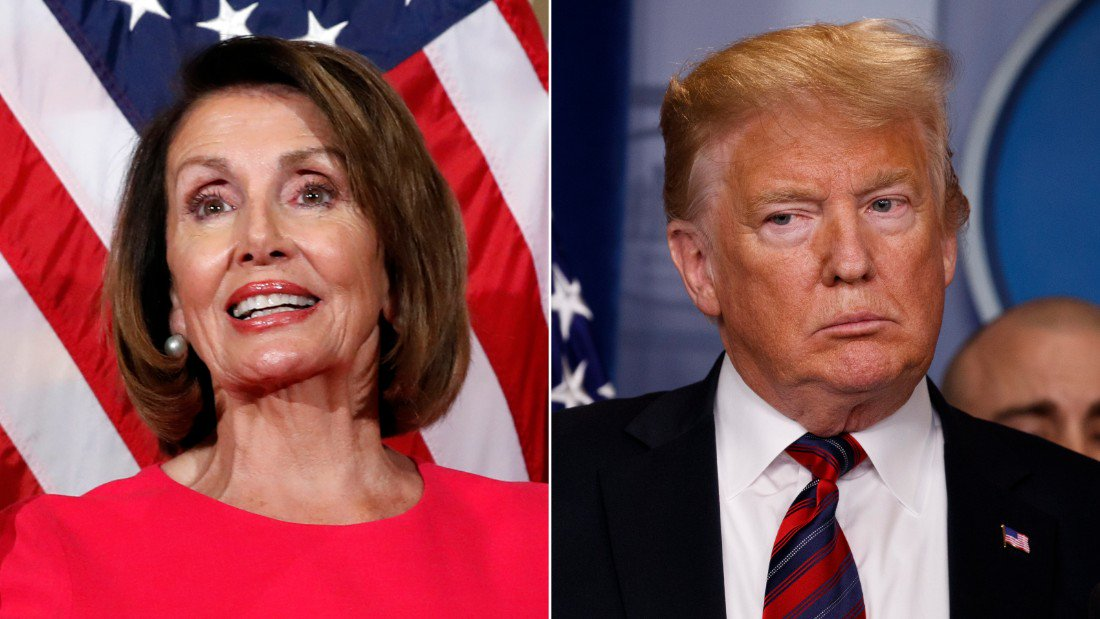 Speaker Nancy Pelosi insists she's 'not denying' President Trump a platform: 'Let's get a date when government is open' for speech https://t.co/FqiLkeDLYq