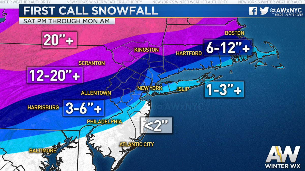 Map Of I 84 New York.Allanweather New York On Twitter Weekend First Call Snow Ice