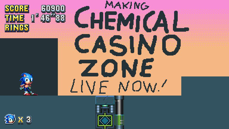 Lumpy On Twitter Im Making My Own Sonic Stage Today Chemical