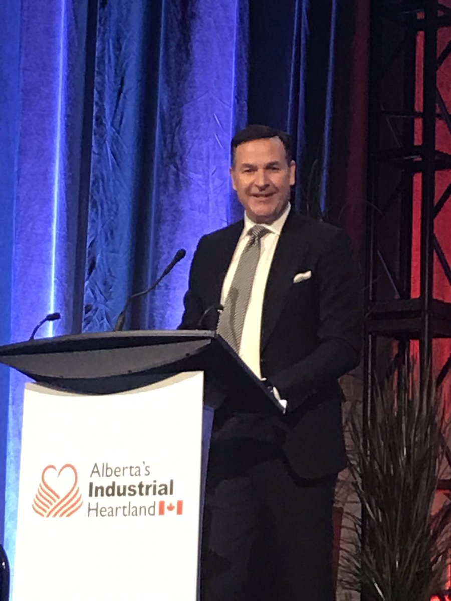 Jim Madro of @inter_pipeline says Heartland World Scale Project has  been in the works for 10 years.  The project is well underway, on track and on budget and will contribute to economic growth in AB.