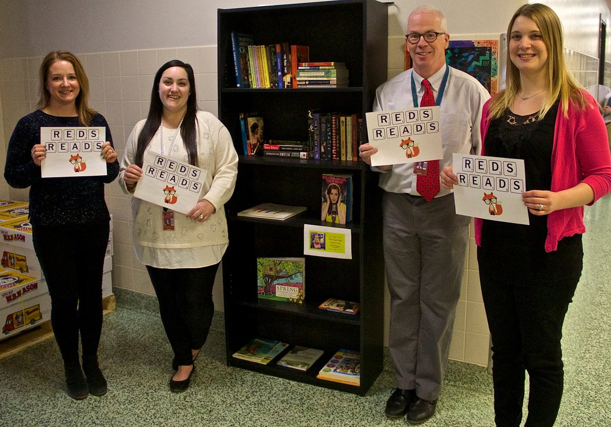 Books take center stage at Newark High School