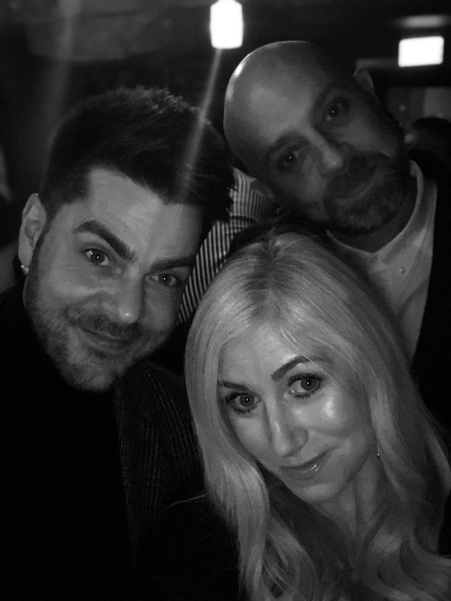 While we still look presentable!! 🤣 #XmasParty @MacandWild @JellybeanAgency @njclancy @neilbrenson #smize