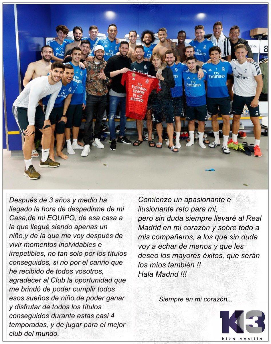 Real Madrid's photo on Kiko Casilla