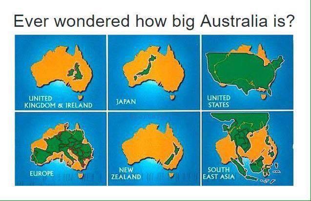 Map Of Australia Vs Uk.Onlmaps On Twitter Australia Vs The World Map Maps