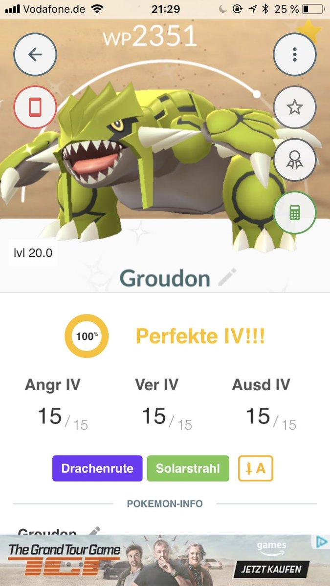 Fuckin' awesome special thanks to my boyfriend #PokemonGO #pokemongo #GroudonRaid #Groudon #shinyGroudon <br>http://pic.twitter.com/vZxQKpheKc