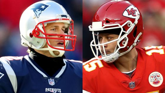 Brady vs Mahomes: The Stats 📊📈  A 41-year-old, 🏆🏆🏆🏆🏆-time Super Bowl winner versus a 23-year-old, second-year QB that has taken the NFL by storm in 2018...  👉 https://t.co/AWmKrjCpbm