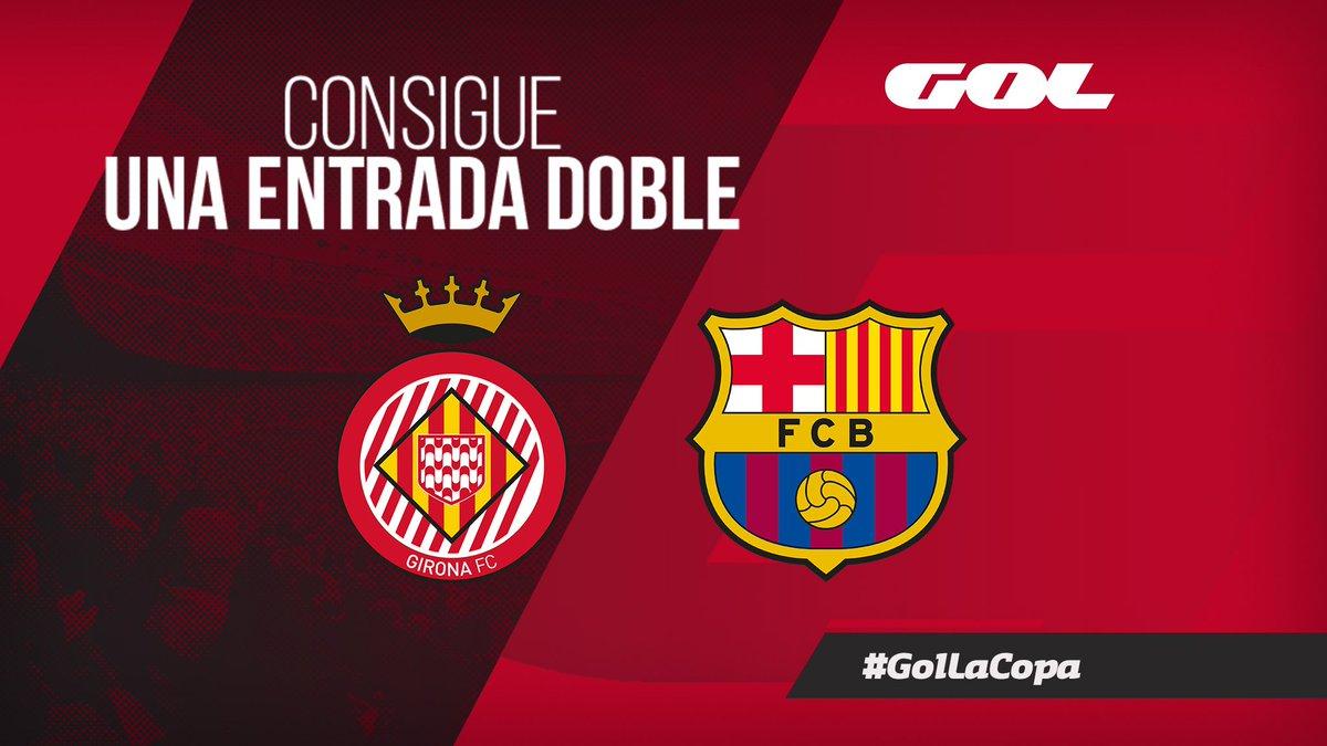 🎁 ¡REGALAMOS una entrada doble para el @GironaFC 🆚 @FCBarcelona_es de la J21!   🔁 Haz RT  📲 Sigue a @Gol   🔮 Dinos quién será el último goleador del Barça 🆚 @LevanteUD junto al HT #GolLaCopa  🎖️ Un ganador  👀 El duelo del Camp Nou se ve en #GOL 👉http://gol.lc/oo9h9