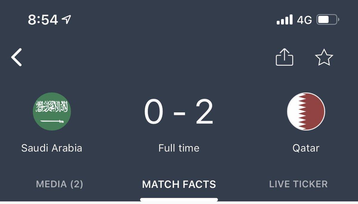 What a win!!! Qatar vs Saudi #qatarvssaudi #qatar #SaudiArabia