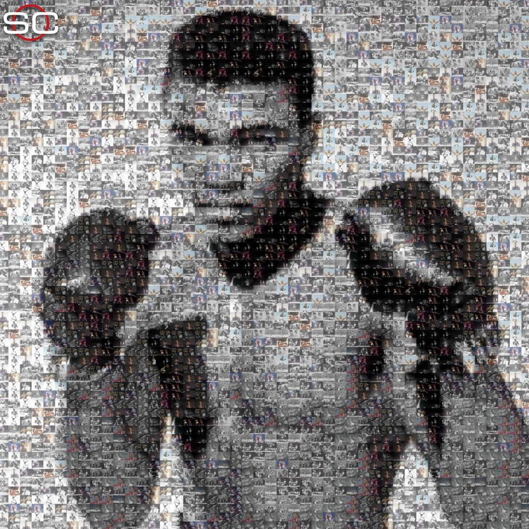 77 years ago today, Muhammad Ali was born 🐝