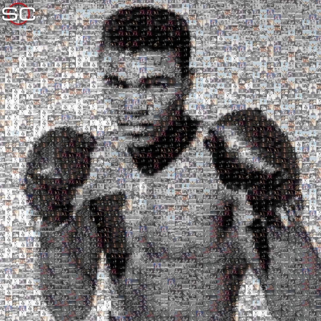 77 years ago today, Muhammad Ali was born �� https://t.co/zFoSKKRCOn