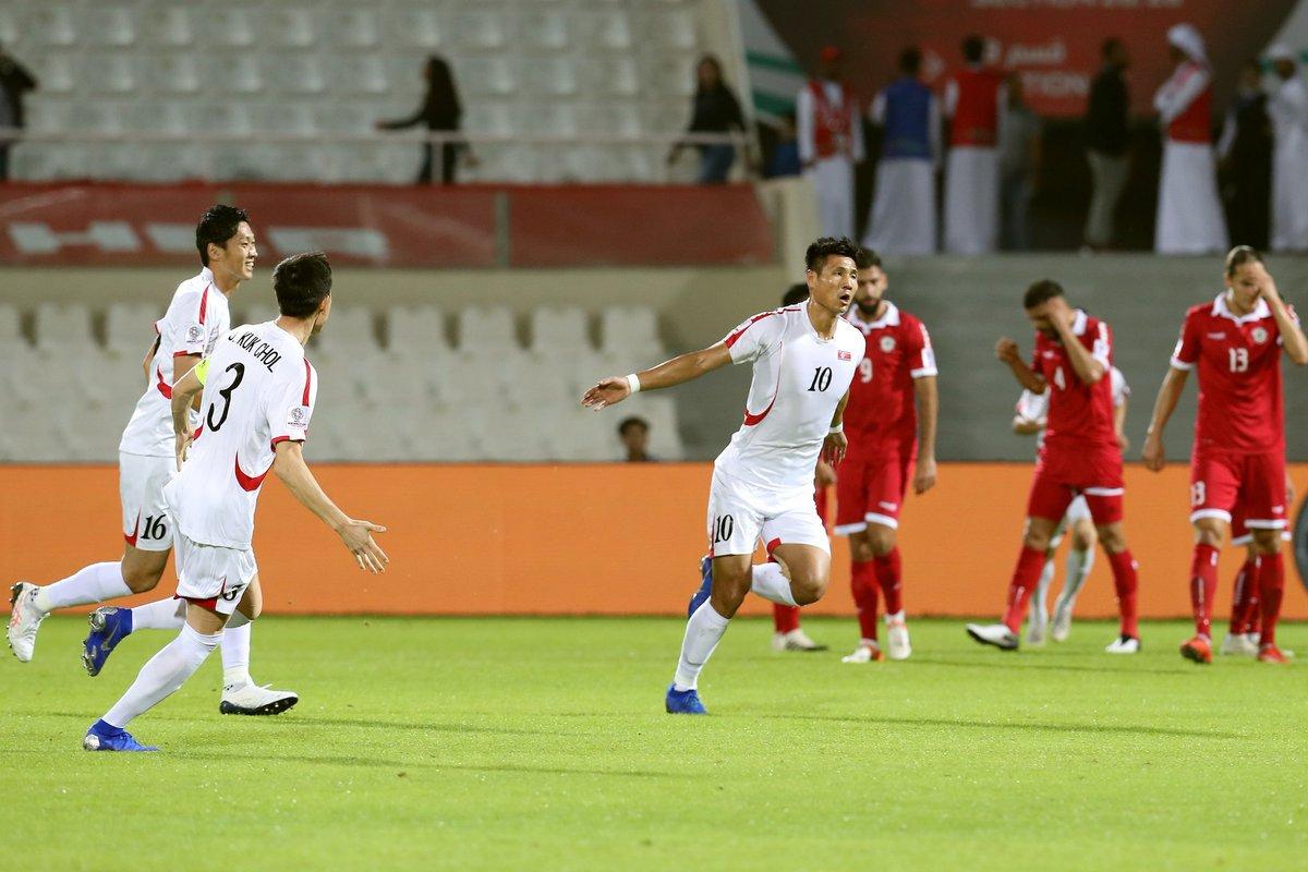 أهداف فوز لبنان على كوريا الشمالية بكأس آسيا 2019
