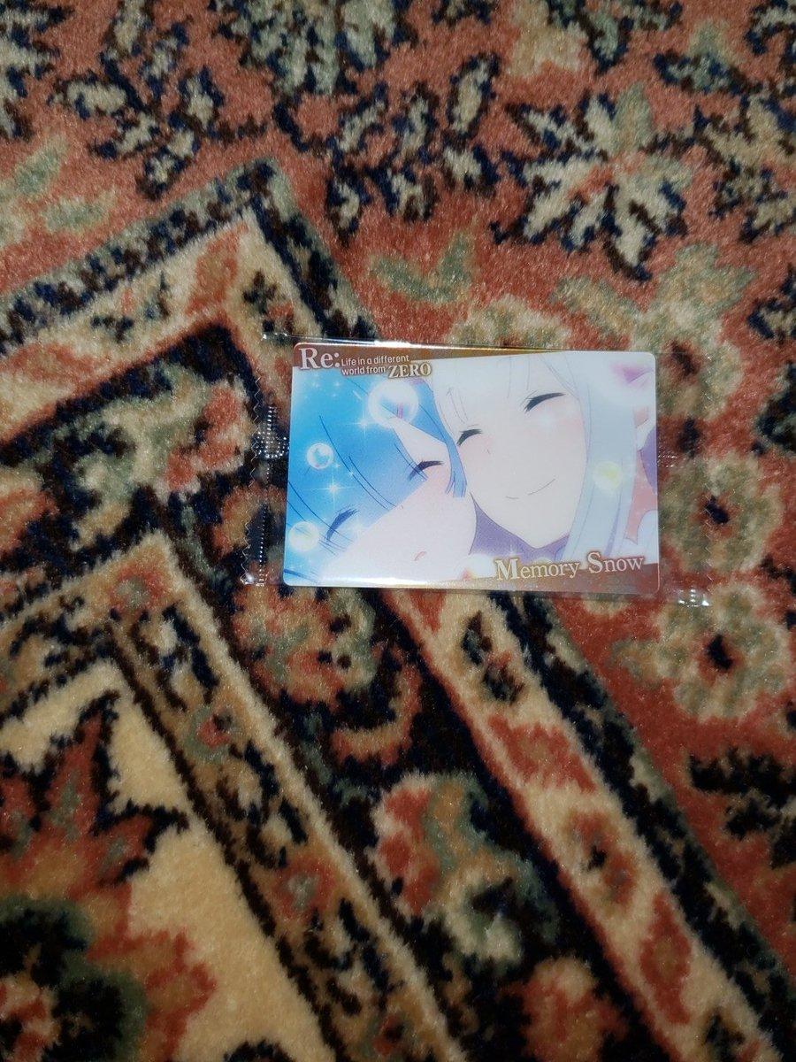 Reゼロから始める異世界生活ウエハース -Memory Snow- ウエハースに関する画像6