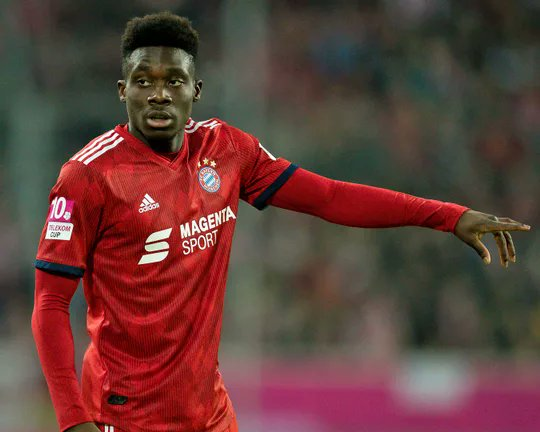 """Alphonso Davies on the UCL draw: """"I woke up and checked my phone and saw that we drew Liverpool, and I got a big smile on my face, because a friend of mine actually plays in their academy. He messaged me, so I'm excited about it and looking forward to the matches."""" [SI] <br>http://pic.twitter.com/EknVEpD5lD"""