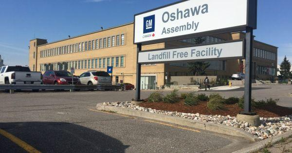 "There's a lot of ""ifs"" attached, but parts supplier Magna might consider building new cars in GM's closing-down Oshawa, Ontario plant, reports @drivingdotca: Photo"
