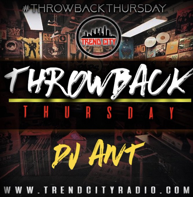Live Radio, Now playing: @adotc04 - NewNew 🎙🎧on #ThrowbackThursday Tune in! ➡️ Foto