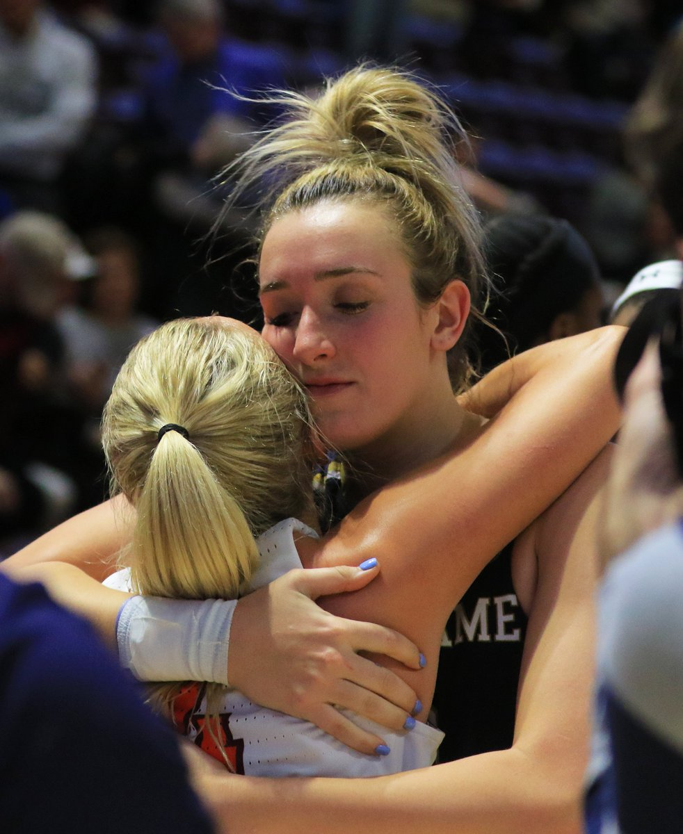 Competitors on the court, sisters forever.  @NDwbb&#39;s Marina Mabrey bested sister Dara when the No. 1 Irish defeated Virginia Tech.  #GoIrish<br>http://pic.twitter.com/yIcJcSiyZs