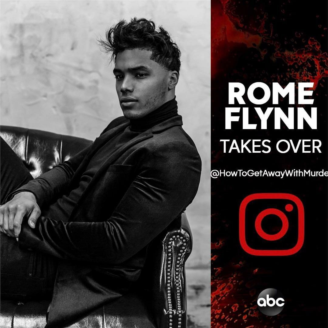 This is happening! Follow the #HTGAWM  Instagram account to catch @RomeTrumain&#39;s Takeover today.<br>http://pic.twitter.com/BWIWIsZNF0