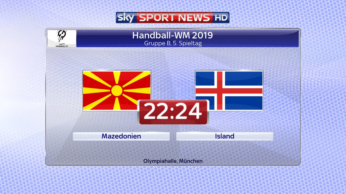 Handball-WM: Island bezwingt Mazedonien: https://t.co/yhwO5F9Kyu