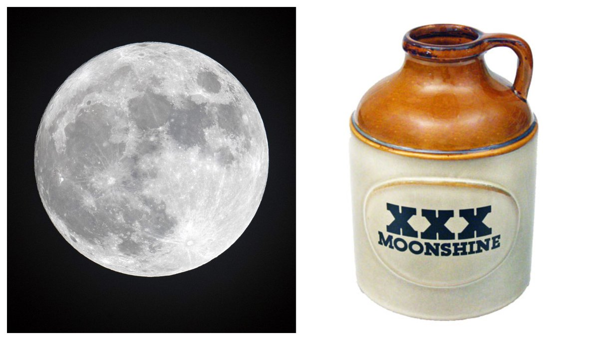 Fancy a swig of moonshine? A wee dram of Glen Lunar?  Last night, @uofg prof Michael Dixon told us he wants to grow barley in space — on the moon or Mars — to make space scotch. What would you name that scotch? Listen for the best answers tonight! https://t.co/nHjC0Sq3Em