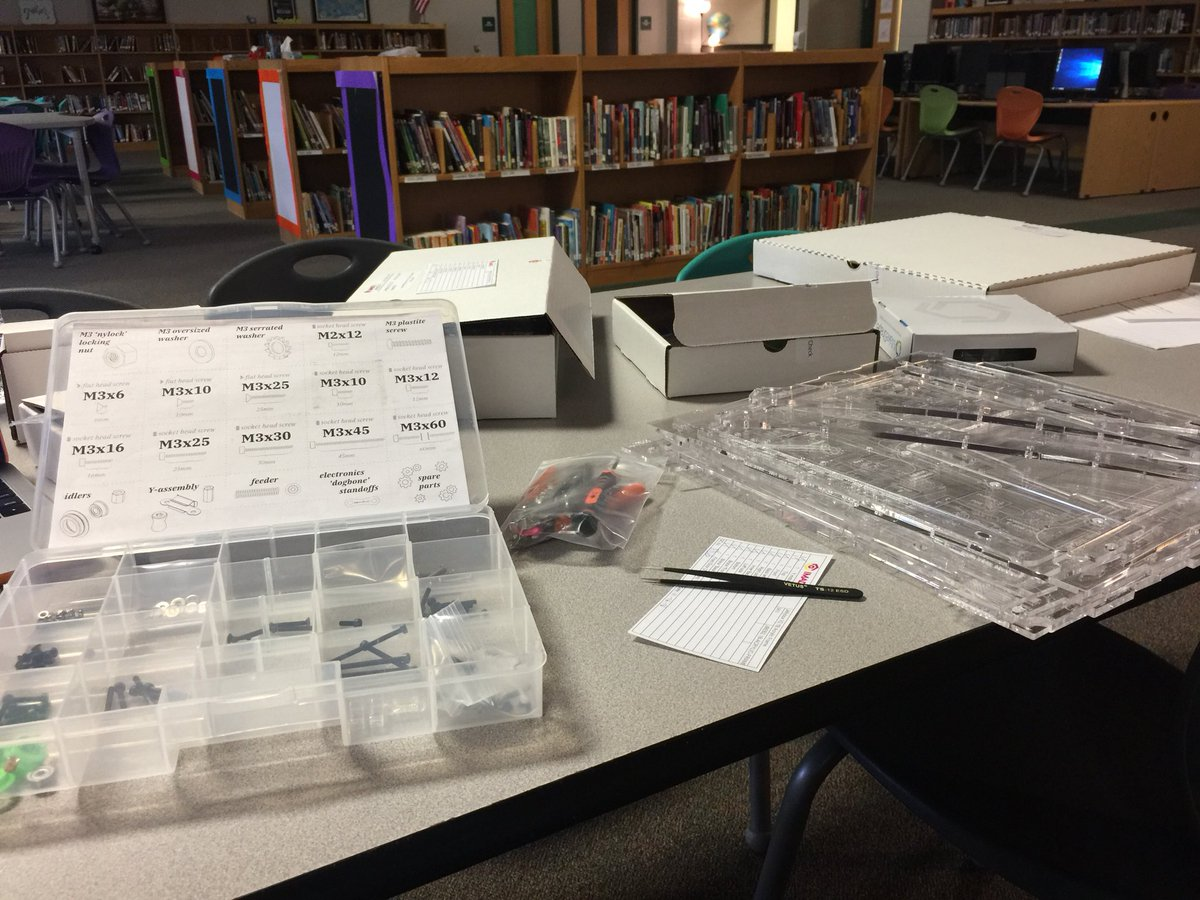 Guess what I'm building! So excited! #scsed #makered #tlap #PlayLAP #MLmagical
