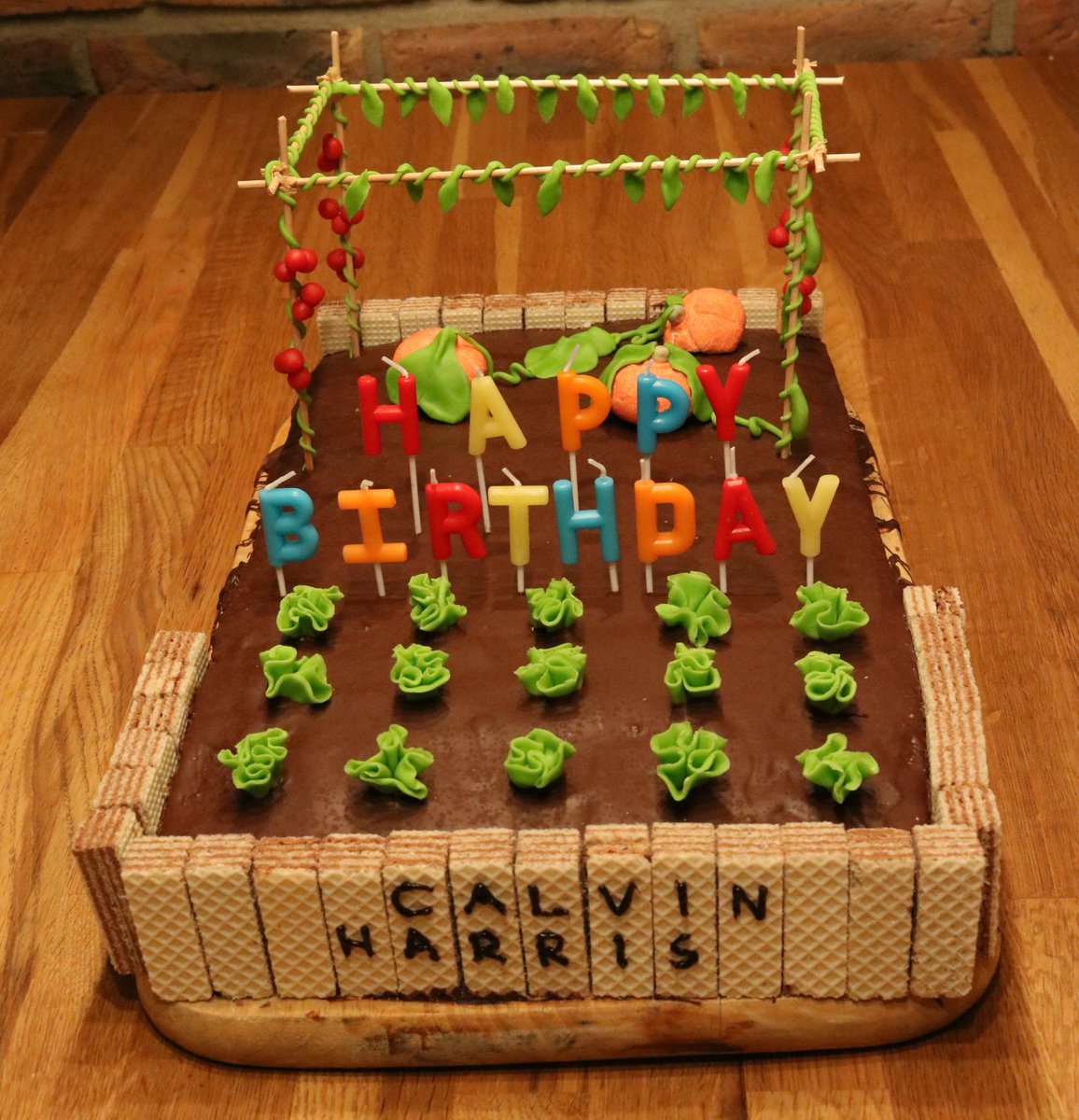 My 2019's birthday cake for @CalvinHarris!!! #nature