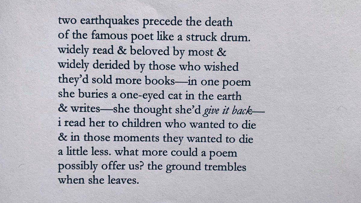 Mary Oliver Poems About Death 6