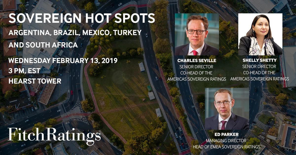 """Register now for 'Sovereign Hot Spots - Argentina, Brazil, Mexico, Turkey and South Africa' panel discussion on February 13 in New York. Senior analysts from the global Sovereigns team to discuss our most asked about """"hot spots"""".  Learn more: https://t.co/mUCkNXa7X5"""