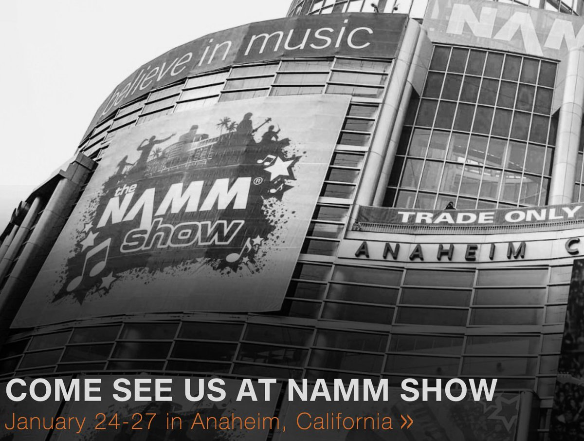 "Stop By the TW AUDiO Tech Bar at the @NAMMShow ! What's inside the PAs we're demoing at #NAMM? How do we tour-test systems? What does ""TW AUDiO"" mean, anyway? Find out everything you wanted to know-sign up for a 15-minute time slot: https://doodle.com/poll/zqkq37xcf662p2pv … #NAMM2019 #NAMM"