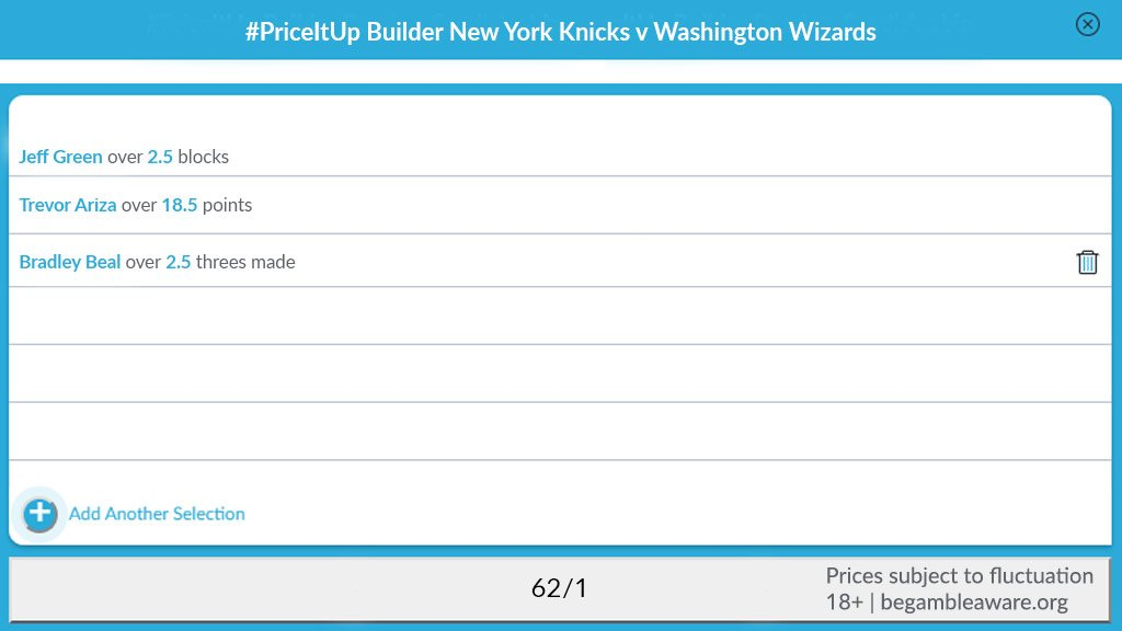 The O2 hosts #NewYorkForever v #DCFamily tonight.   Try our new NBA #PriceItUp bet builder.   📲 https://bet.victor.com/2RSWLgO