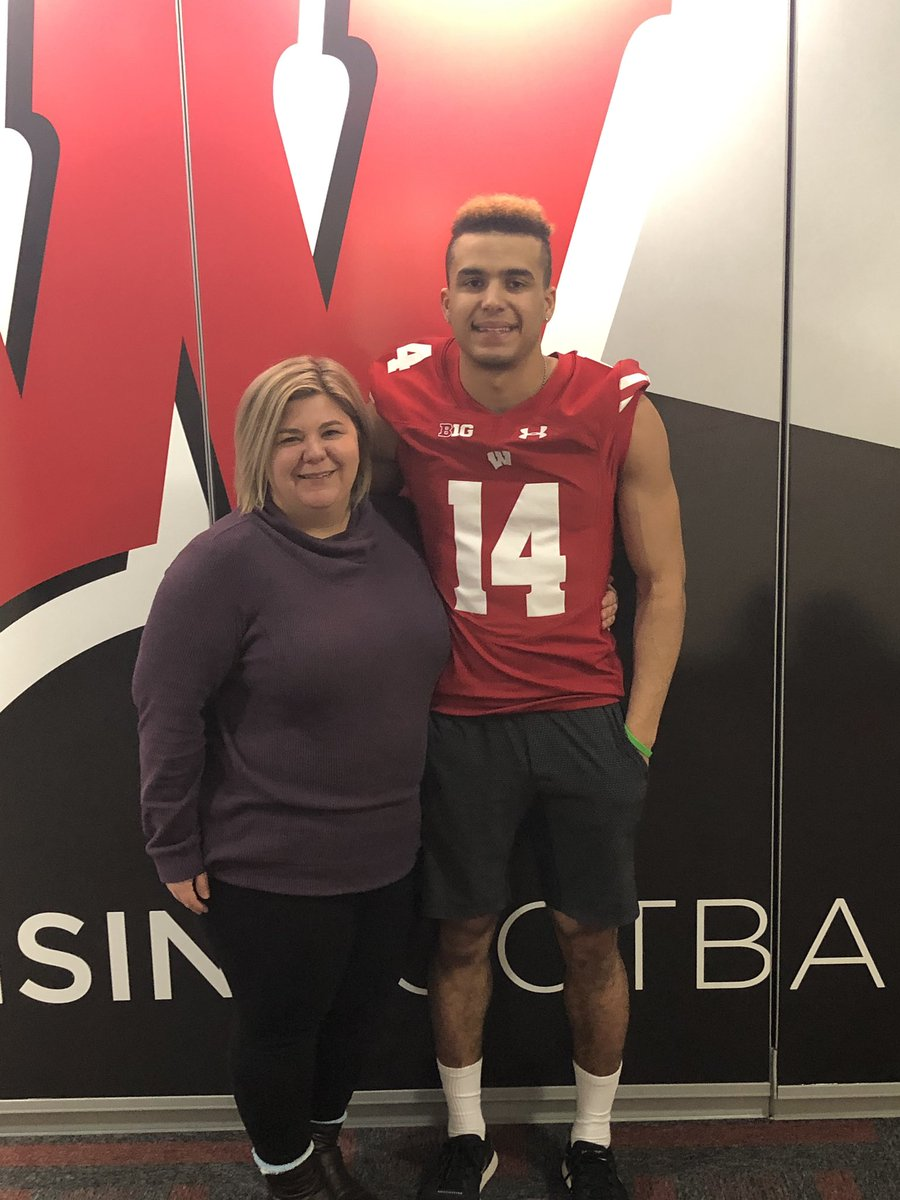 I'd like to announce that I'm continuing my football career at UW Madison! A big thank you to God and all my friends, family, and coaches for being by my side in this long journey I've been on. Thank you to the Badger coaching staff for this opportunity! #OnWisconsin  <br>http://pic.twitter.com/y9zNhvMB68 &ndash; à Camp Randall Stadium