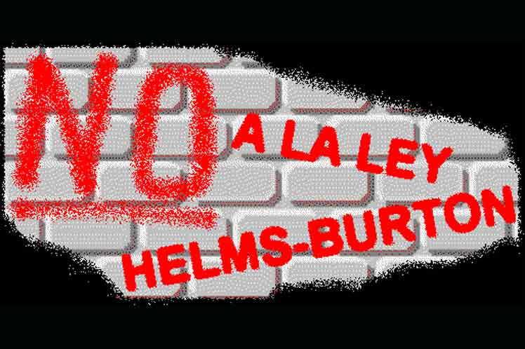 Resultado de imagen para ¡quién firmó la ley helms burton?