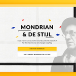 """""""100 Years of Mondrian"""" is an interactive website by @deptagency showcasing the life & work of #PietMondrian and the #DeStijl movement. 🏆 It won the 2018 Webby People's Voice Award in Websites: Art.  See the Webby-Winning project → https://t.co/49EA8EkpUi"""
