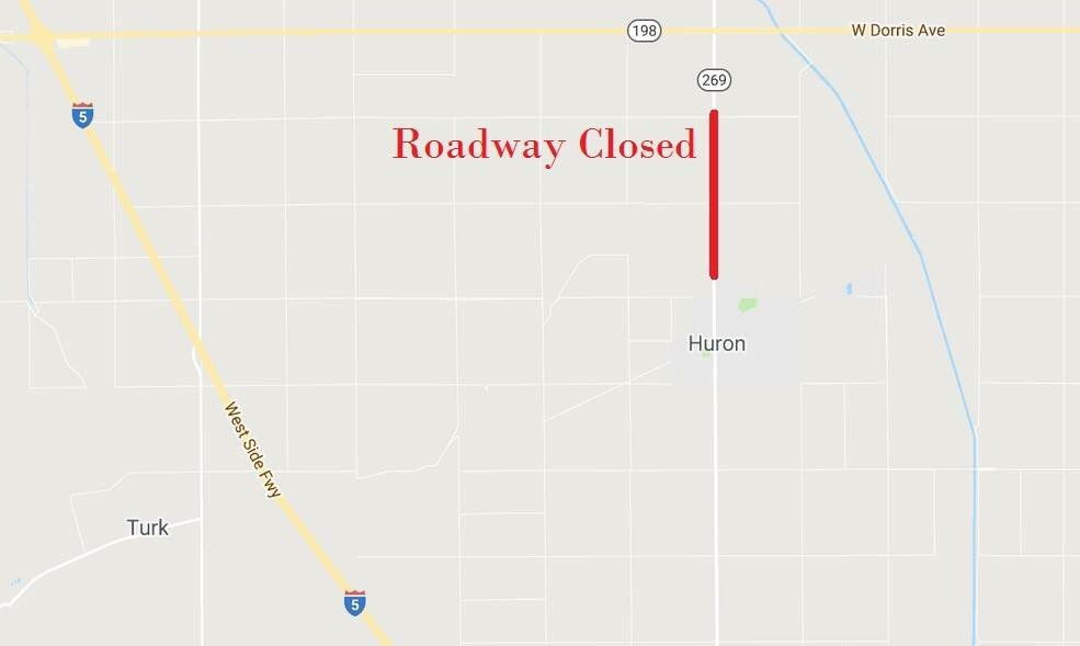 The roadway is now open.