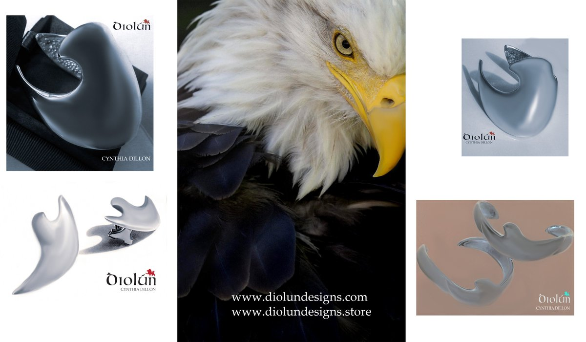 "All in the Family... ""Eagles"" Bracelets, Earrings.... www.diolundesigns.com"