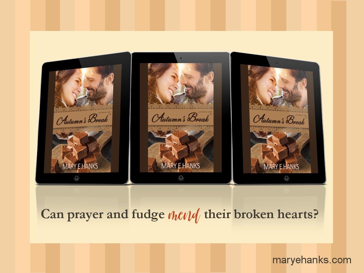 Can prayer and fudge mend their broken hearts? AUTUMN'S BREAK #Christianromance #kindleunlimited #fridayreads  http://www. amazon.com/dp/B01FXDDZNC  &nbsp;  <br>http://pic.twitter.com/I7uxe3qlhC