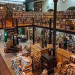 Image for the Tweet beginning: Here is Leakey's Bookshop, a
