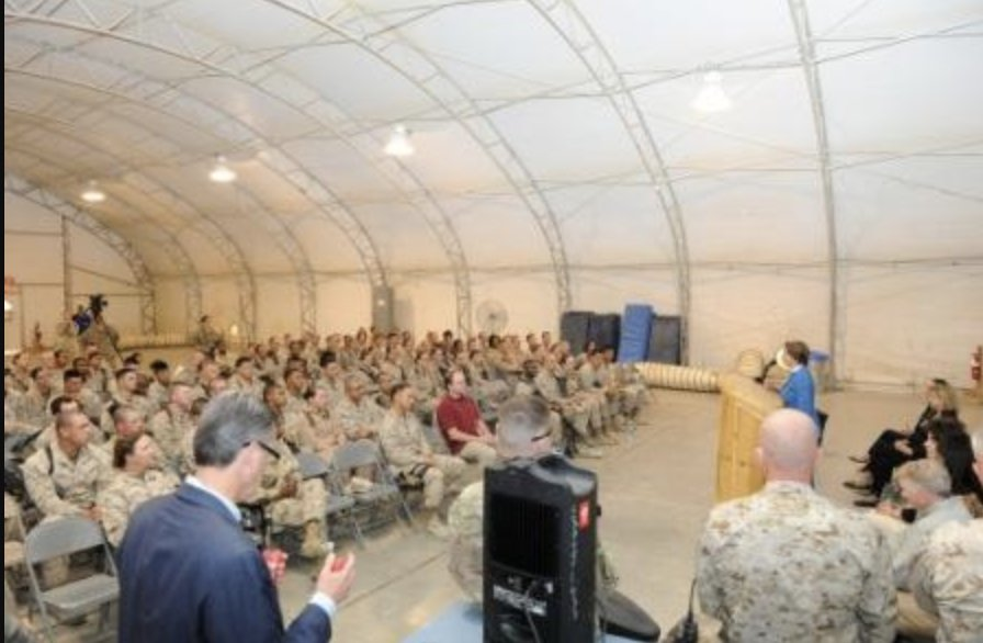 This isn't an exhaustive list, but ... Pelosi in Helmand in 2012