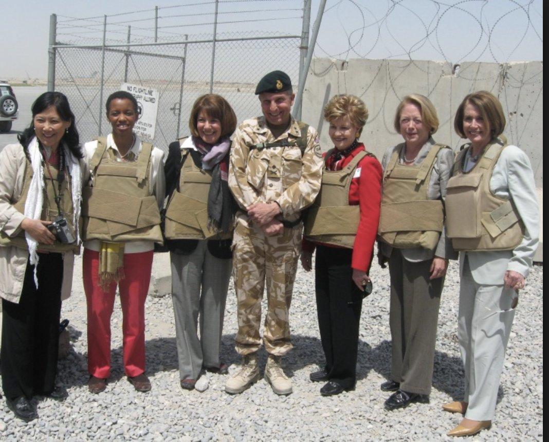 Pelosi in Kandahar 2010