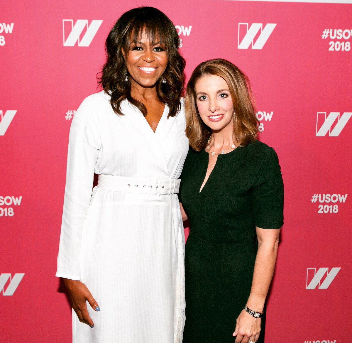 Happy birthday, Michelle Obama! I was so overwhelmed when I met her that I had no words, so I just did a prayer bow. I'm sure she thought it was odd, but that was what I went with.