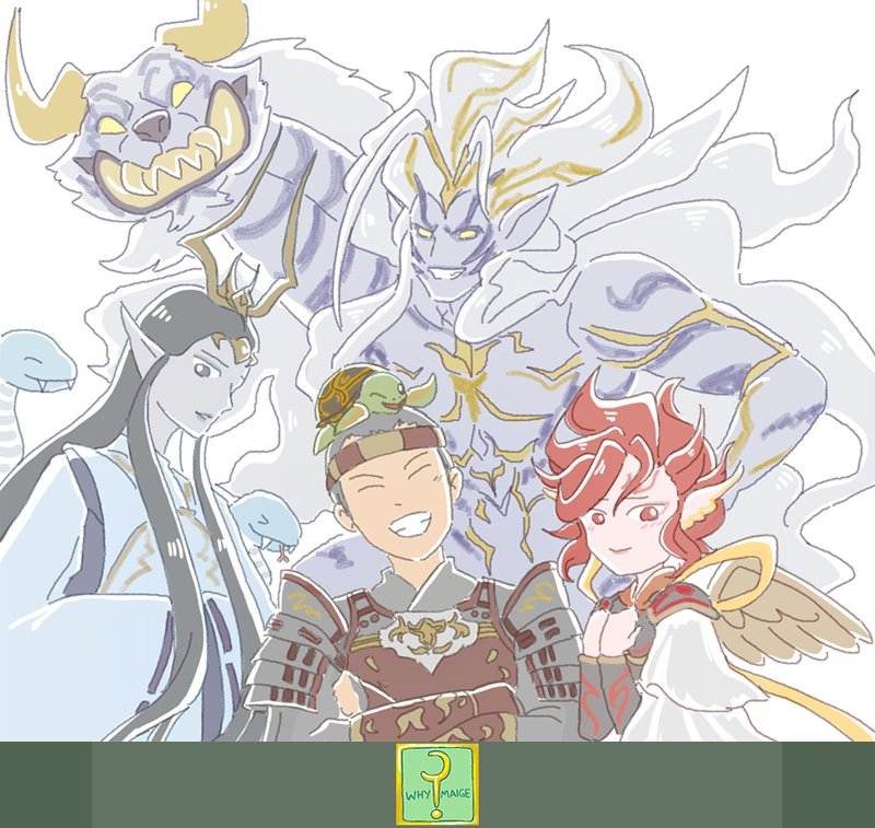 I love them all ;-;  My favorite among them all is Byakko because he&#39;s so adorable and funny xD I also like his trial&#39;s music score &lt;3  #FFXIV #finalfantasyxiv #FF14  #WhyMaige<br>http://pic.twitter.com/ezSOS7mR2N