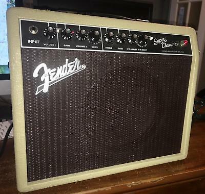 Fender super Champ x2 manual Pdf