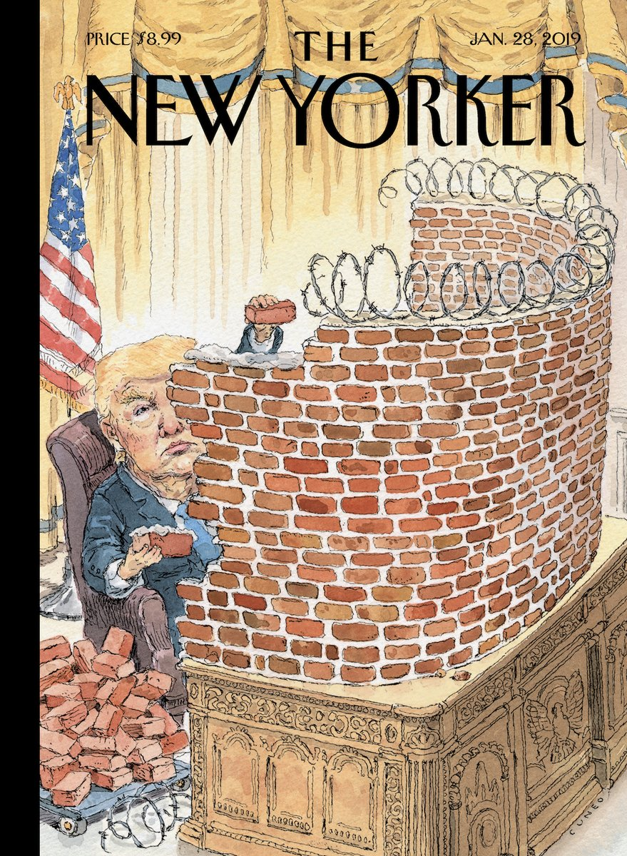 Next week's New Yorker cover says it all.
