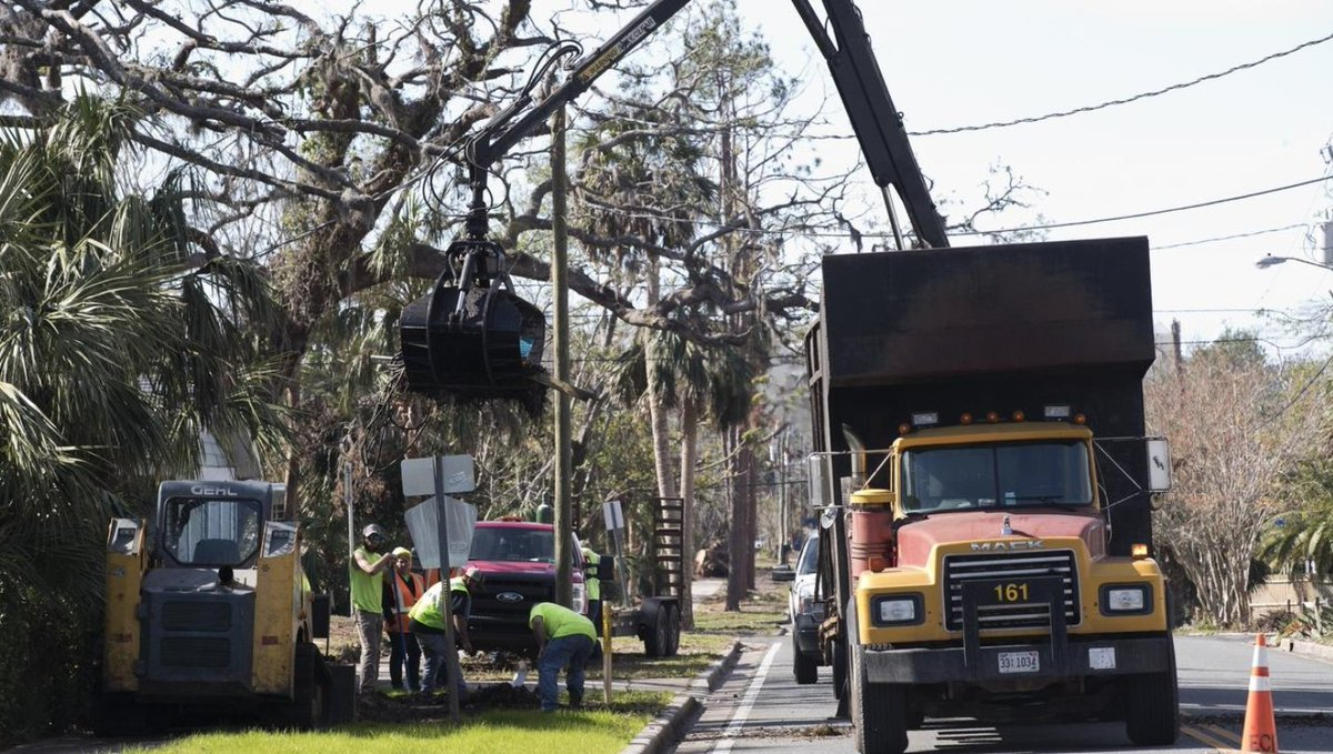 Cleaning the debris from Hurricane Michael continues to be a huge undertaking for the state, while insurance claims remain open. #HurricaneMichael #recovery  http:// bit.ly/2ARKJe5  &nbsp;  <br>http://pic.twitter.com/3AjzrJn97p