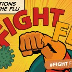 Image for the Tweet beginning: .@CDCFlu recommends 3 steps to