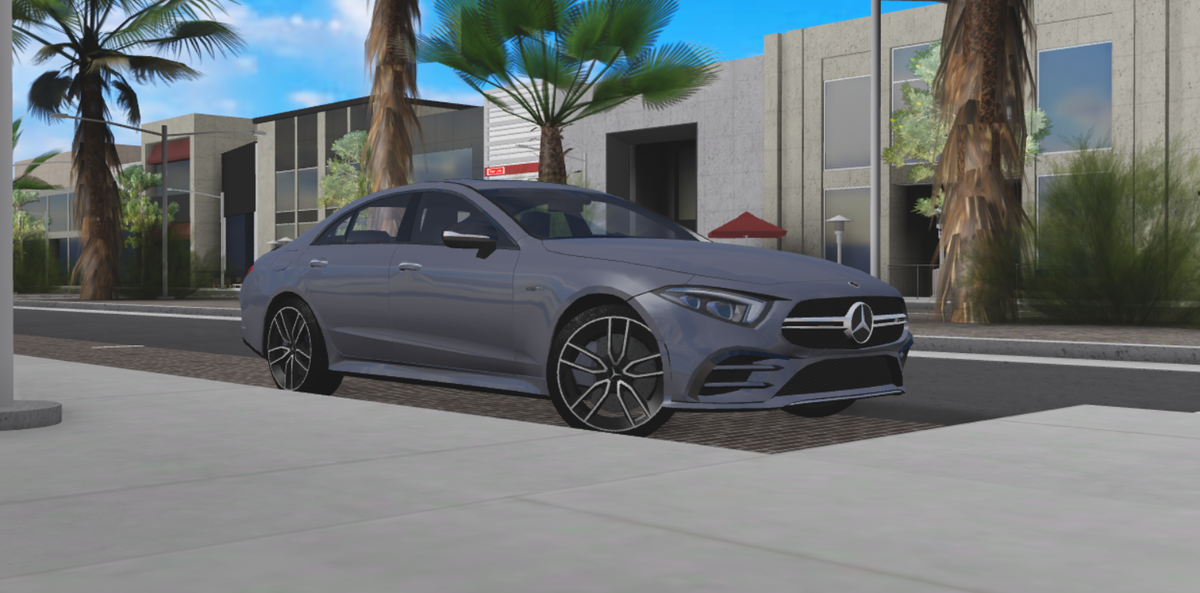2019 Mercedes-AMG CLS 53 4Matic+ | Made in #blender3d and imported to #Roblox #RobloxDev |  Photos taken at @Raftrerbl&#39;s place.<br>http://pic.twitter.com/cWbhUQNw95