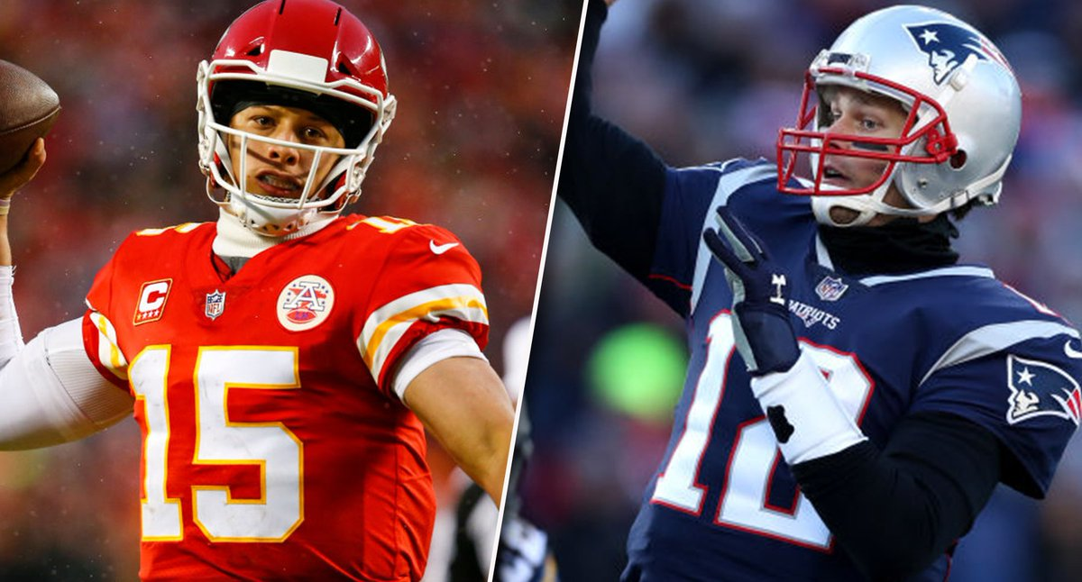 Think both Patrick Mahomes and Tom Brady throw more than 300 passing yards on Sunday? 🧐  It's one of the questions on this week's Yahoo Fantasy Slate contest 👀  More info ➡ https://t.co/gJlRpFnbGO