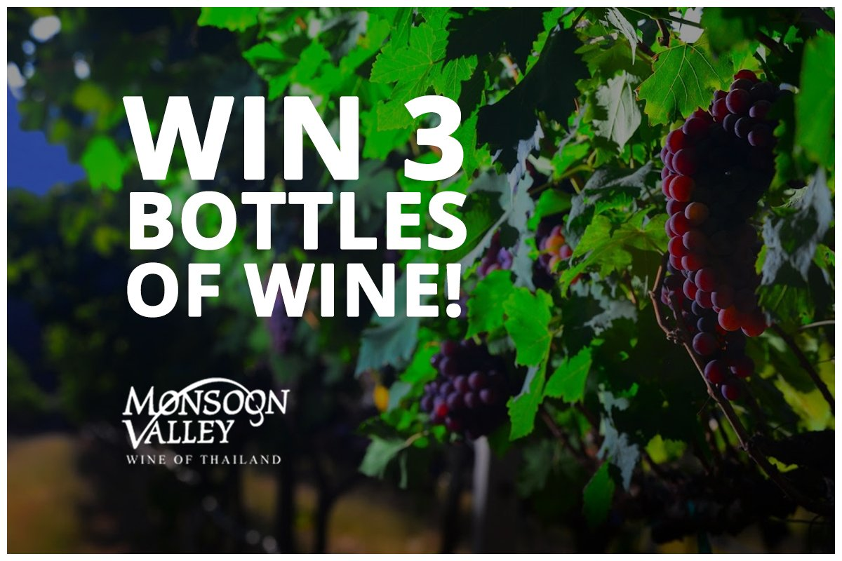 Win 3 bottles of fine #MonsoonValley wine just RT and follow @MonsoonValleyUK to enter! Kick 2019 off with a bang! #competition T&amp;Cs apply <br>http://pic.twitter.com/ezB1cU01zh